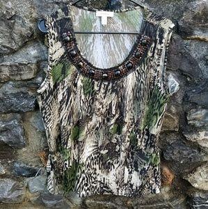 Flirty Layers Embellished  Nature Style PLUS SIZE
